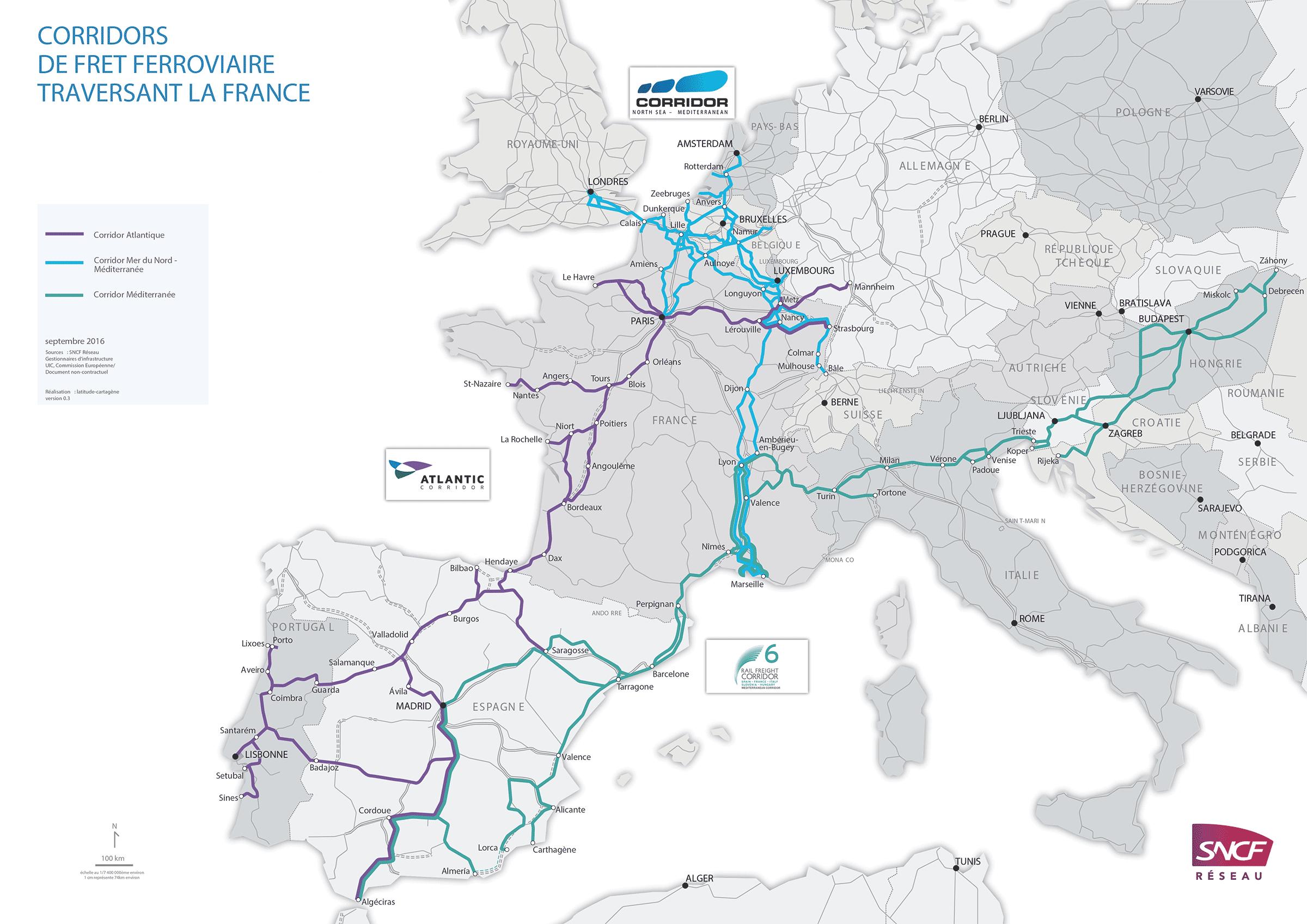 Corridors européens de fret ferroviaire traversant la France   SNCF Réseau