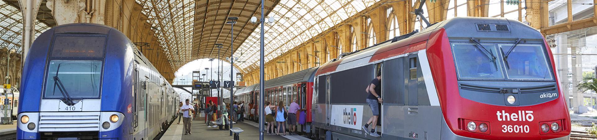 hero banner : Nouvelles opportunités pour le rail domestique