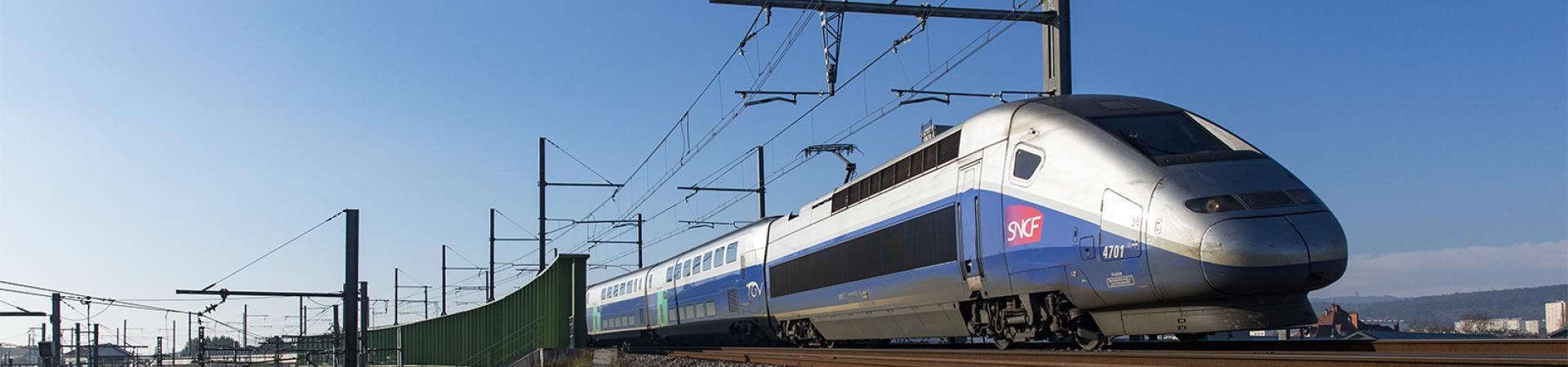 Hero Banner - La ligne LGV+ Paris-Lyon