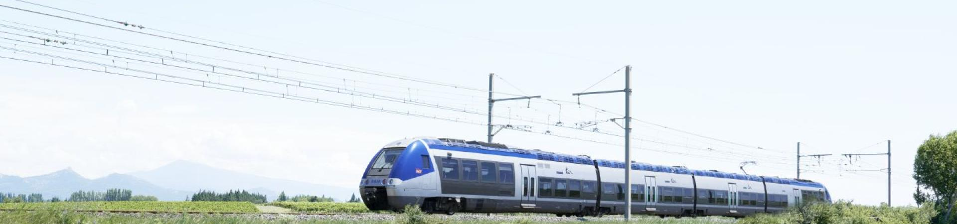 Train paysage