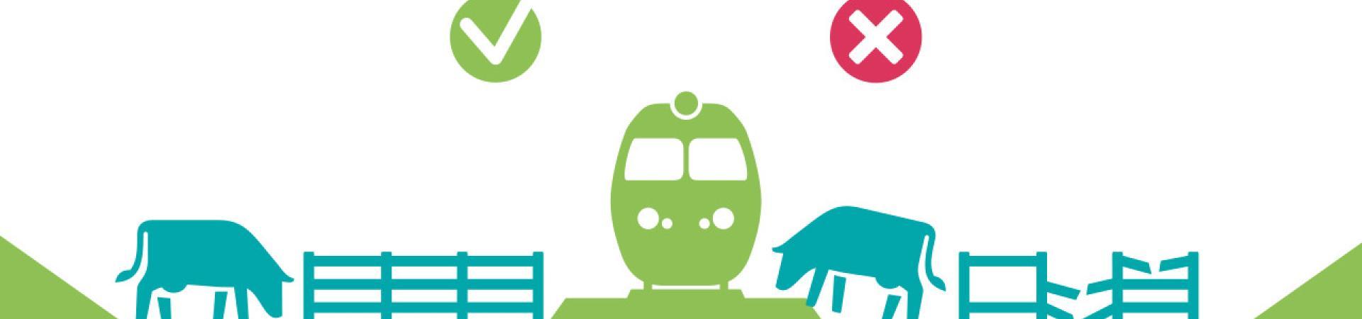 Campagne de sensibilisation sur la divagation d'animaux aux abords des voies ferrées
