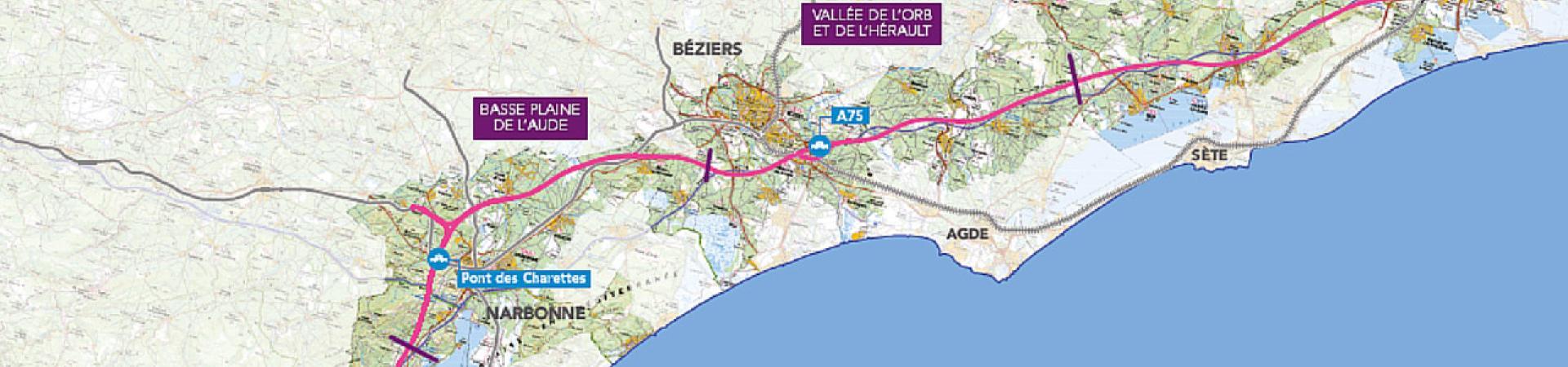 Ligne Nouvelle Montpellier Perpignan