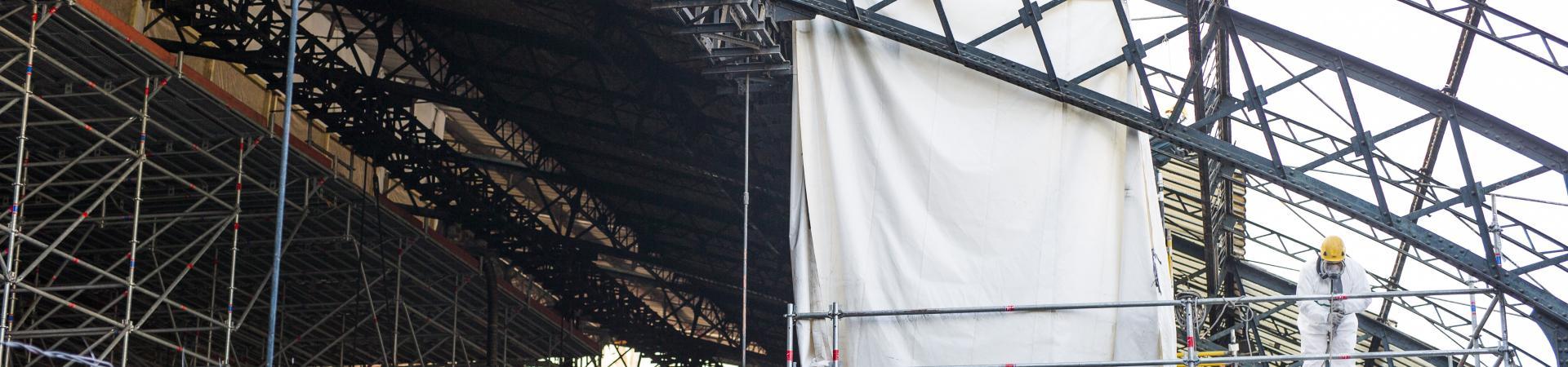Rénovation de la grande verrière en gare de Tulle (19)