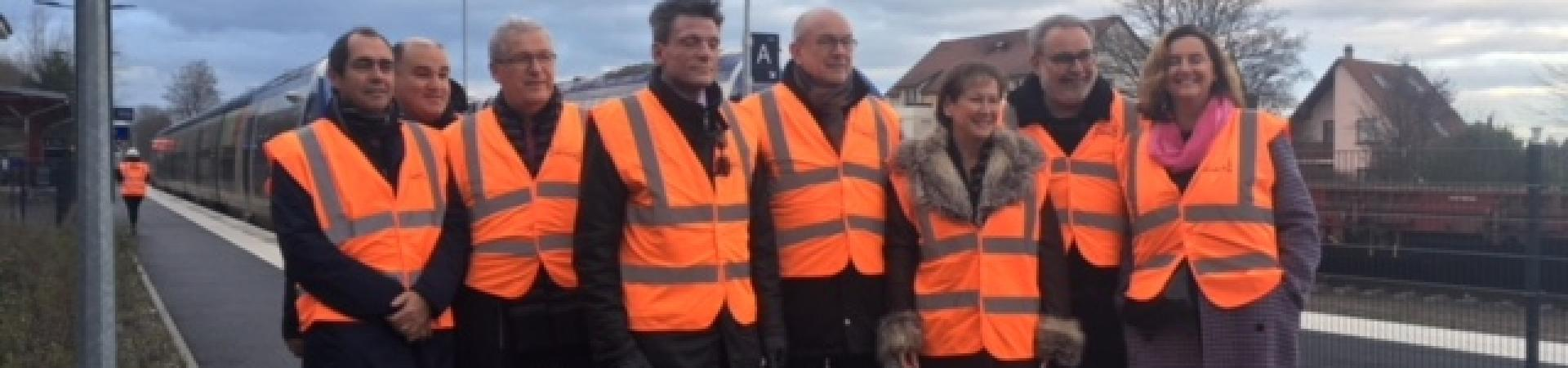 Photos de la visite de chantier du 19 décembre 2018