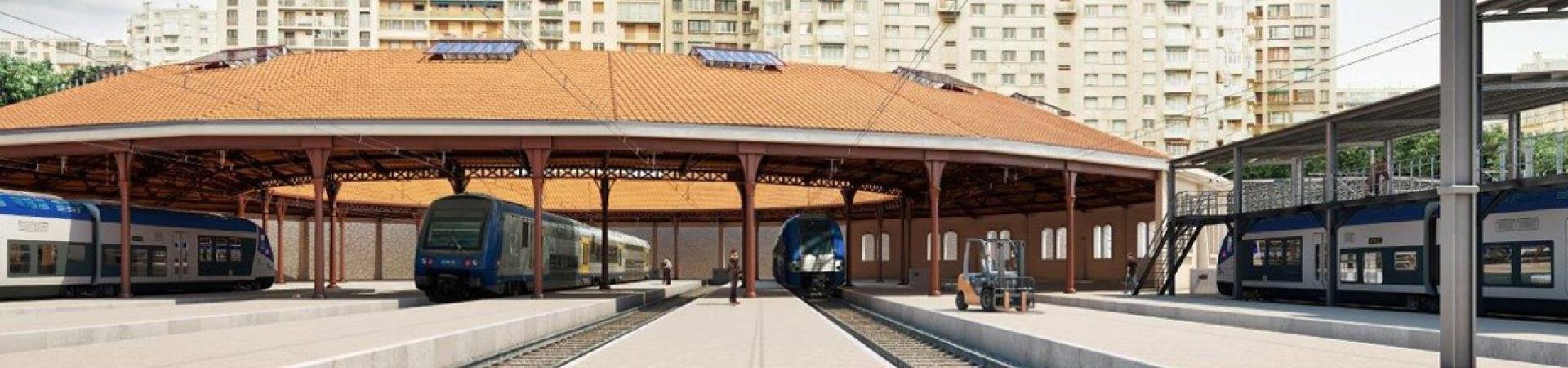 Réaménagement du site ferroviaire Marseille-Pautrier