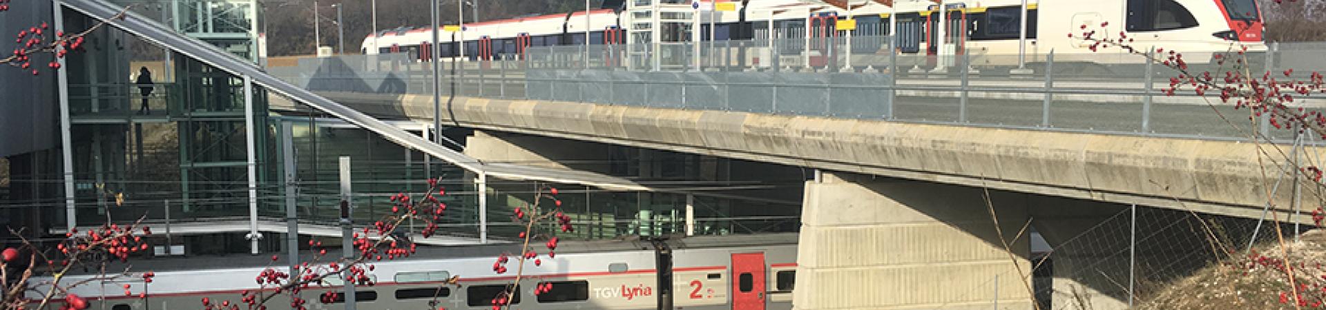 Réouverture au voyageurs de la ligne Belfort-Delle